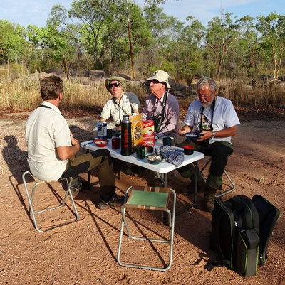 Bush Breakfast at Kakadu